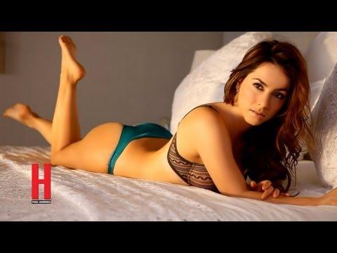 Claudia Lizaldi ¡sexy como nunca en revista H para Hombres