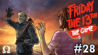 SECOND SHACK FOUND, JASON SAYS GOODBYE!   Friday the 13th The Game #28 Ft. Friends