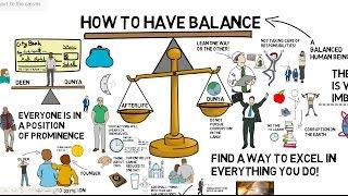 HOW TO HAVE BALANCE - Nouman Ali Khan Animated