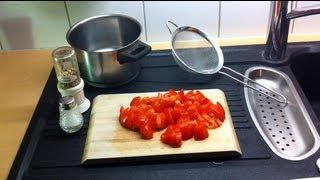 Tomatensaft selber machen - Gemüsesaft aus Tomaten