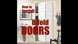 How to easily install Bifold doors