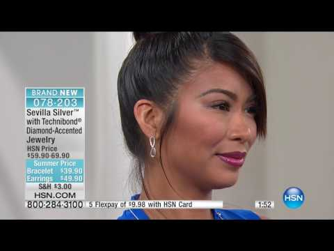 HSN | Sevilla Silver with Technibond Jewelry 05.12.2017 - 02 AM