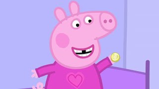 Peppa Pig Episodes - Peppa and the Toothfairy! - Cartoons for Children