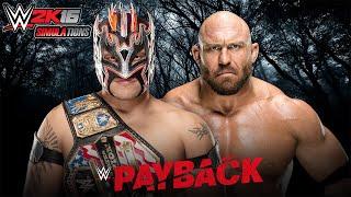WWE 2K16 - PAYBACK 2016: Kalisto vs Ryback