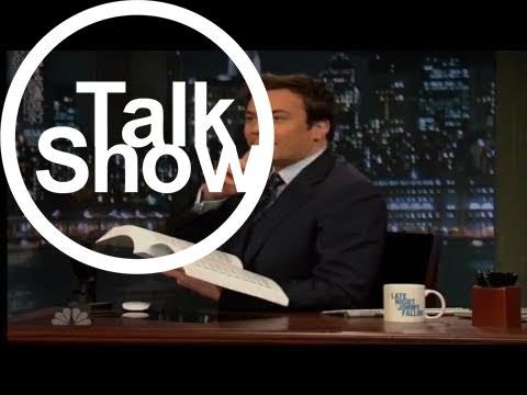 [Talk Shows]Do Not Read with Jimmy Fallon - Cooking in The Nude