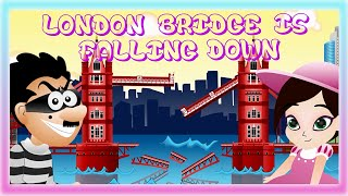 LONDON BRIDGE IS FALLING DOWN | Nursery Rhyme Express | Animation | Sing Along | Childrens Song