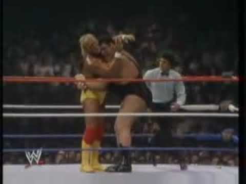 Hulk Hogan Vs Andre The Giant Wrestlemania III Part 2 of 3
