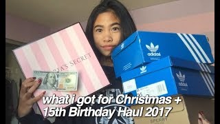 What I Got For Christmas & 15th Birthday Haul 2017! (Lulu's, Adidas, Kendra Scott, etc)