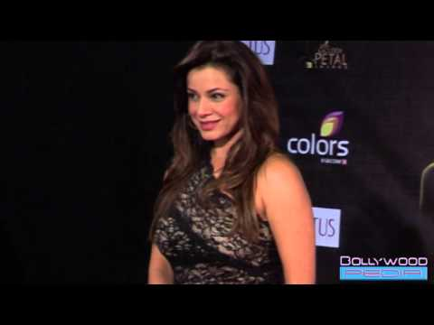 Neelam Kothari Hot in Very Short Dress at Golden Petal Awards