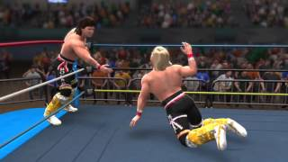 WWE 2K Video Game: WWF vs WCW Clash Of The Titans Part 1