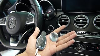 New Mercedes Benz - Cool Features Tips and Tricks Key Fob C Class