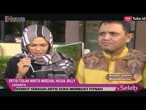 Muncul Petisi Boikot Nikita Mirzani, Billy Syahputra & Hilda Fitria - iSeleb 1211