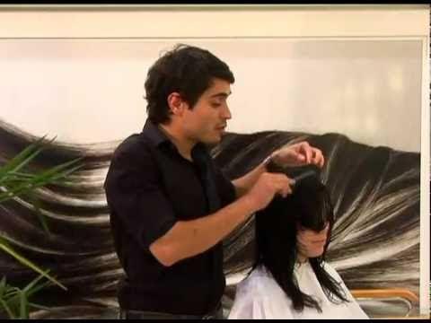 VIVABELEZA Aula Fácil Corte criativo em um cabelo longo.