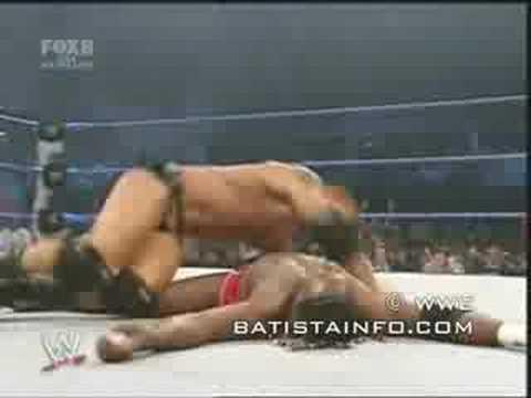Smackdown Batista vs. Elijah Burke