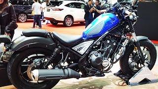 Honda Rebel Midnight Blue
