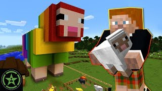 ROYGBaa the Rainbow Sheep - Minecraft (#320) | Let