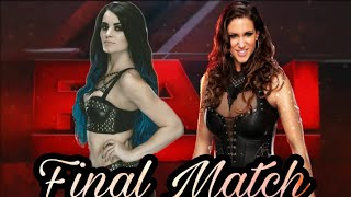 WWE 2K17 Paige vs Stephanie McMahon Ending of Rivalry FINAL match!!!!