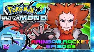 POKÉMON ULTRAMOND Part 64: Team Flare Boss Flordelis Rainbow Rocket Battle!