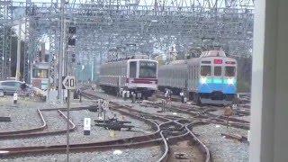 【回送20K】東急8500系8614F伊豆夏号東武動物公園副1番線入線・到着・発車