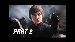 STAR WARS BATTLEFRONT 2 Walkthrough Part 2 - Luke Skywalker (PC Let's Play Commentary)