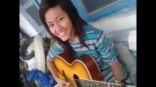 Awesome- A Naga Girl Singing  Coat Of Many Colours  by Dolly   (Must watch)