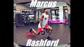 Marcus Rashford: A footballers Gym Workout ?         Prt 3