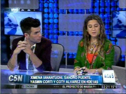 C5N DE 1 A 5 YASMIN CORTI COTY ALVAREZ XIMENA IANANTUONI Y SANDRO PUENTE