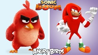 Angry Birds As Sonic Boom Characters - Sonic Characters in Angry Birds