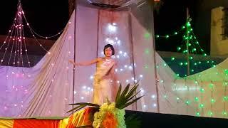 Prem ratan dhan payo  |Amazing dance by girl in ramlila ground  parikshit garh(2017)