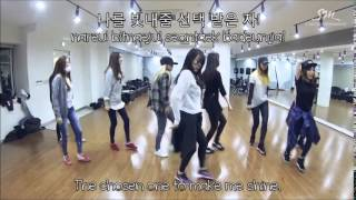 Girls' Generation (소녀시대) - Mr. Mr. (Dance Practice Ver.) Lyrics [Rom/Han/Eng]