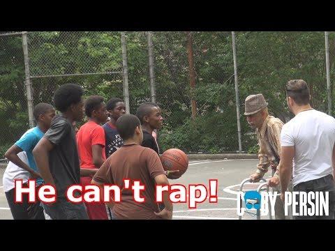 Grandpa Raps In The Hood Like A Boss