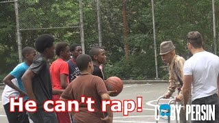 Grandpa Raps In The Hood Like A Boss!