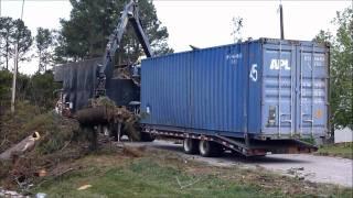 100 Yard Brush Truck