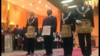 Illuminati exposed of African president