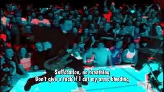 PAPA ROACH - Last Resort / Instrumental with Lyrics ( Karaoke )