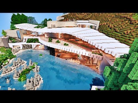 Map Minecraft Villa. Map Map Villa Redstone. Made For Minecraft. Big ...