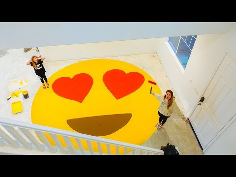 Xxx Mp4 Family Surprises Daughter With HUGE PAINTED EMOJI In New House 😍 Slyfox Family 3gp Sex