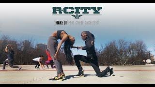 R. City - Make Up ft. Chloe Angelides   YAK Films Bones & Rebekah #DanceOnRCity