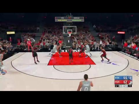 Xxx Mp4 Wolves VS Blazzers NBA2K18 3gp Sex