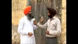 310712 Interview with AISSF  Pradhan at 1984 Massacre site in Haily Mandi, Haryana Part 1