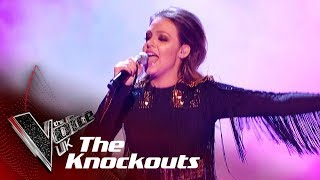 Rhianna Abrey Performs 'Anywhere': The Knockouts | The Voice UK 2018