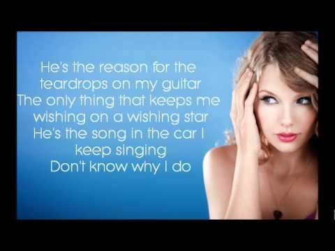 Teardrops On My Guitar - Taylor Swift [Lyrics]