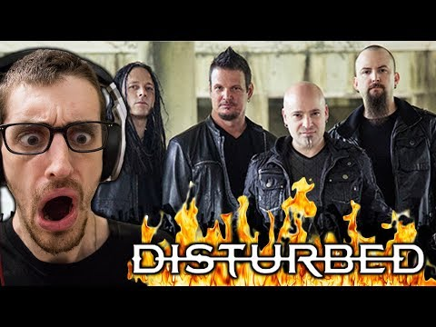 """Hip-Hop Head's FIRST TIME Hearing DISTURBED: """"Down With the Sickness"""" REACTION"""