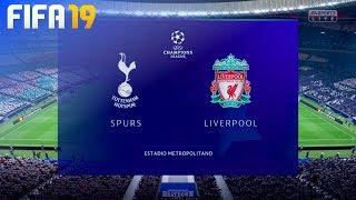 FIFA 19 - Tottenham Hotspur vs. Liverpool @ Estadio Metropolitano (Champions League Final)