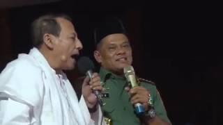 Habib Lutfi bin Yahya bersama Panglima Gatot Nurmantyo - Merah Putih Melekat di Dada