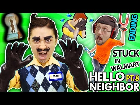 HELLO NEIGHBOR IN REAL LIFE Cry Baby in ALPHA 3 Basement His Name Revealed FGTEEV Part 8 IRL