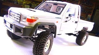 FiNALLY Moving Forward - LC70 Land Cruiser 4x4 Truck - Installing a Body Mount Kit | RC ADVENTURES
