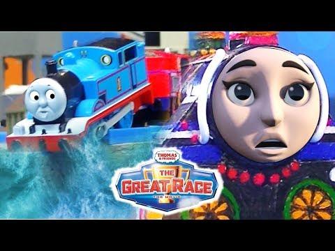 Xxx Mp4 Ashima Rescues Thomas Slow Motion TrackMaster Ashima The Great Race Thomas And Friends Movie 3gp Sex