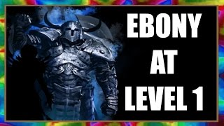 Skyrim Special Edition - Get EBONY WEAPONS at LEVEL 1 - Powerful Gear Easy!