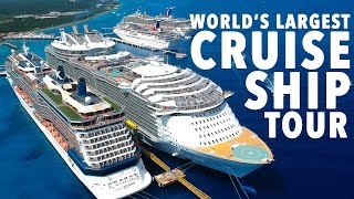 World's Largest Cruise Ship Tour! HARMONY OF THE SEAS!
